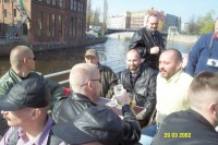 Leather Bears Berlin: Boat trip - Easter 2002: Photo 8 (39 KB)