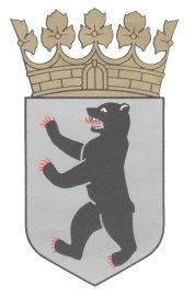 The bear - heraldic animal of Berlin